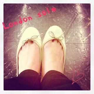 不會跳芭蕾還是要穿芭蕾舞鞋 - London Sole